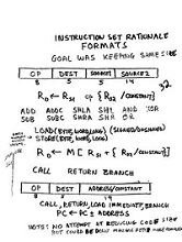 RISC I - Material i shkruar me dore rreth ISA RISC I